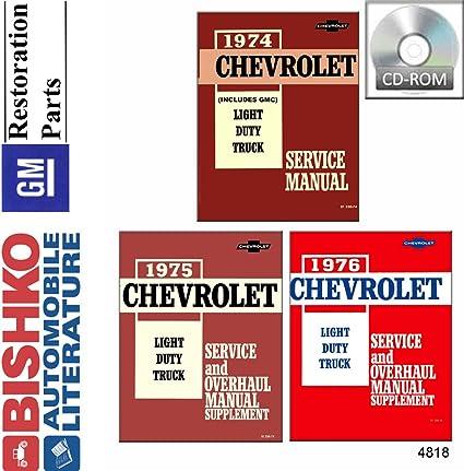 OEM Repair Maintenance Shop Manual Chevy Truck C//K 10-30 Series Overhaul 1993