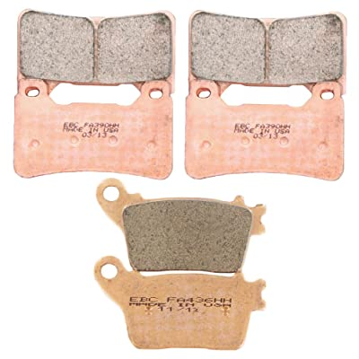 EBC Brakes EBPCK1001 Complete Double-H Sintered Brake Pad Change Kit: Automotive