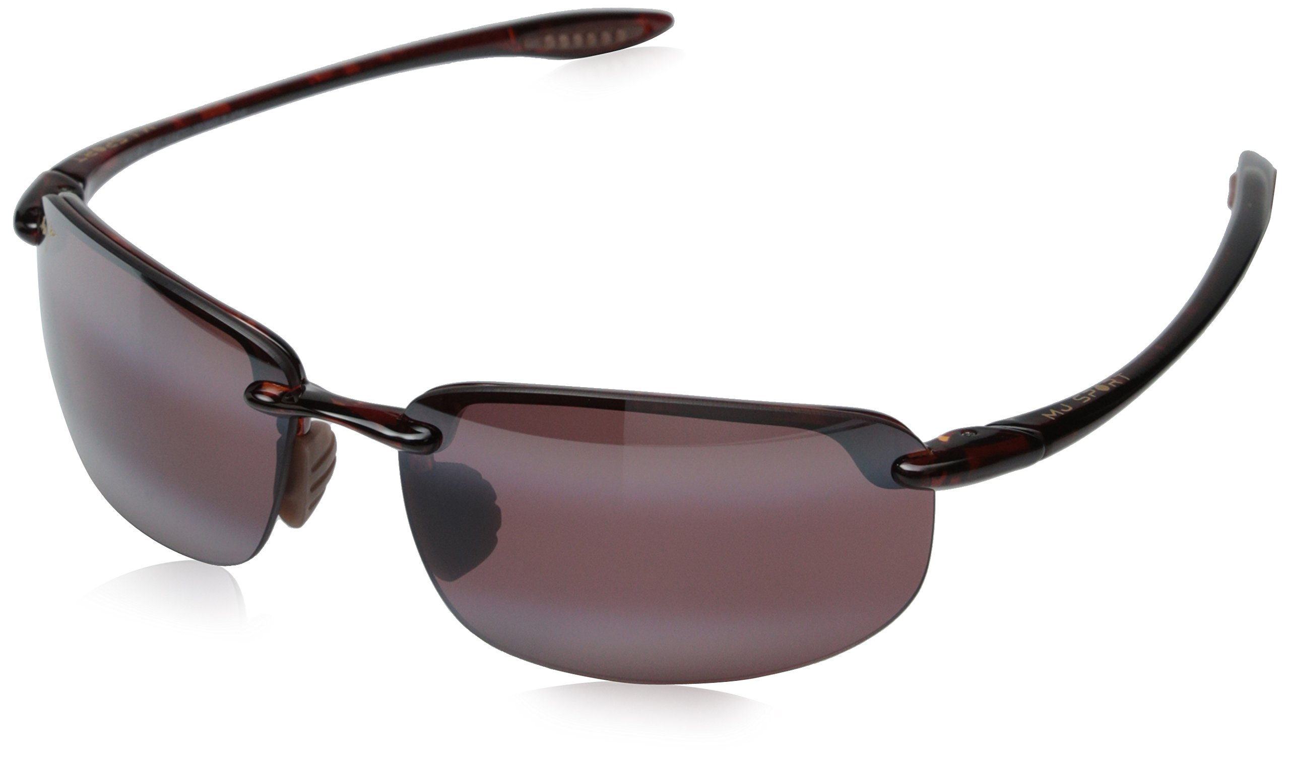 Maui Jim Ho'okipa Sunglasses-R407-10 Tortoise (Maui Rose Lens)-64mm