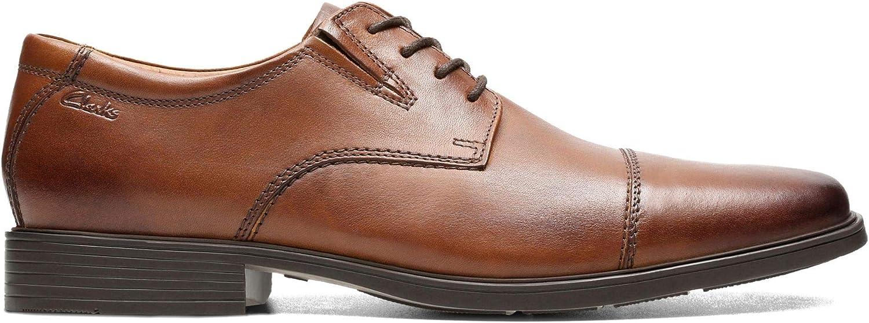 Clarks Tilden Cap, Zapatos de Cordones Derby para Hombre