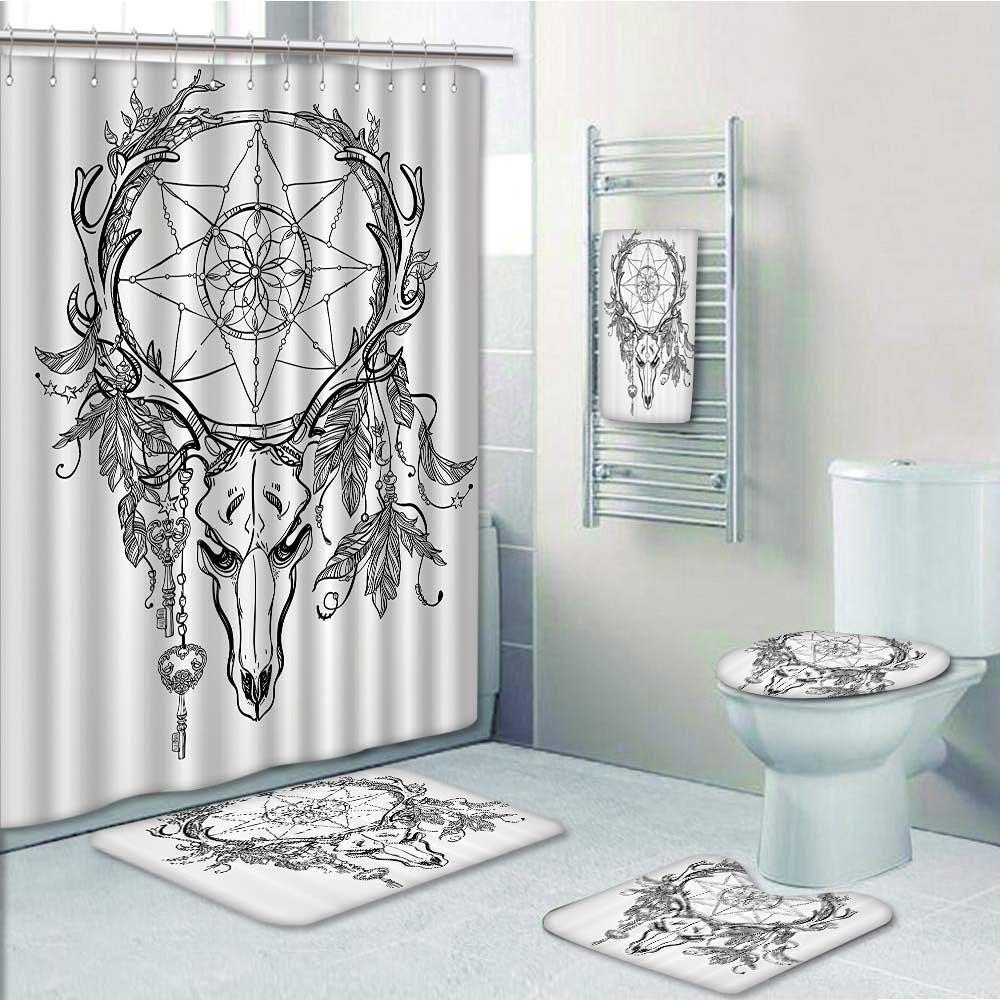 Amazon.com: Homesonne 9 Piece Bath Accessory Set Bathroom Rugs