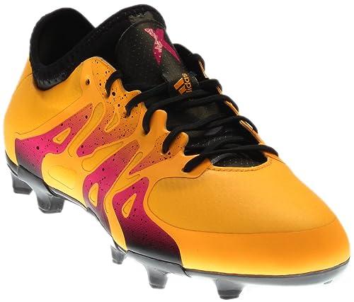reputable site ca524 39fa8 adidas Soccer Cleats Size 3.5 - X 15.1 FGAG Junior, GoldBlack