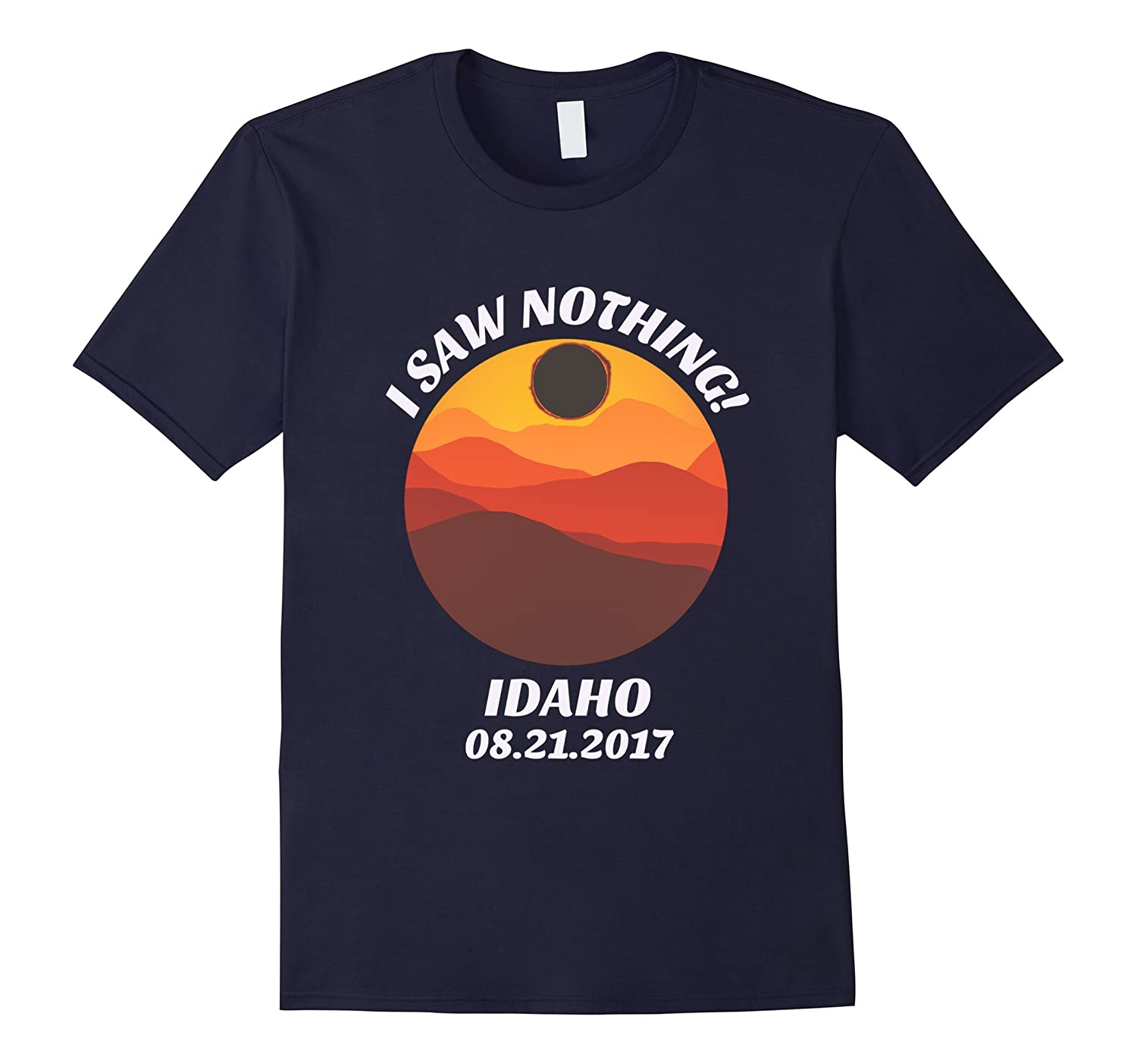 Funny Idaho Solar Eclipse T-Shirt Idaho Retro Eclipse Shirt-Art