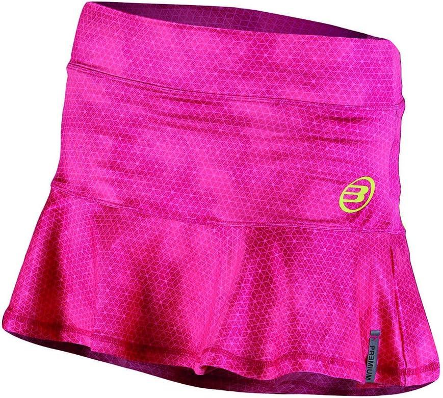 Bull padel Bruna - Falda para Mujer, Color Fucsia, Talla L: Amazon ...