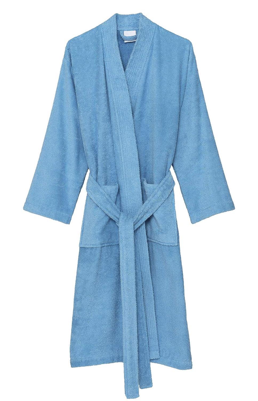 17e39435cd TowelSelections Women s Robe Turkish Cotton Terry Kimono Bathrobe Made in  Turkey at Amazon Women s Clothing store
