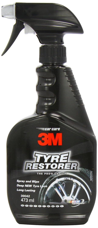 3M –  Restaurador de neumá ticos de brillo natural –  botella de Spray –  473 ml
