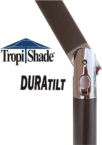 Tropishade 9 ft Bronze Aluminum Patio Umbrella