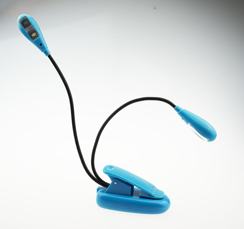 led clip on reading light adjustable neck book light