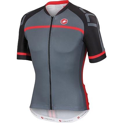 Amazon.com   Castelli Volo Jersey FZ Turbulence Size 3XL   Sports ... b0c448a16
