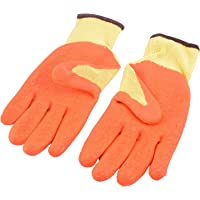 SAFEYURA® Multipurpose Gardening Gloves Sweat Free Cotton Fabric Palm Side Coated with Latex