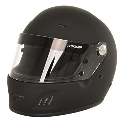 Auto Racing Helmets >> Amazon Com Conquer Snell Sa2015 Approved Full Face Auto Racing