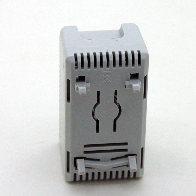 Generic pequeño compacto Termostato regulable, 0 - 60 grados conexión de controlador de temperatura de radiador para armario kto 011: Amazon.es: Bricolaje y ...
