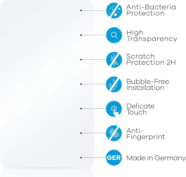 upscreen Protector Pantalla Compatible con iRiver Astell/&Kern AK120 Pel/ícula Protectora Antibacteriana