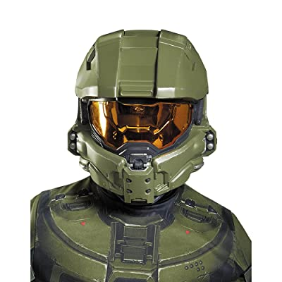 Halo Master Chief Kids Half Mask: Toys & Games