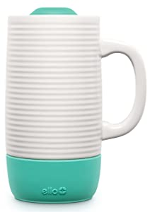Ello Jane 18oz Ceramic Travel Mug with Silicone Boot