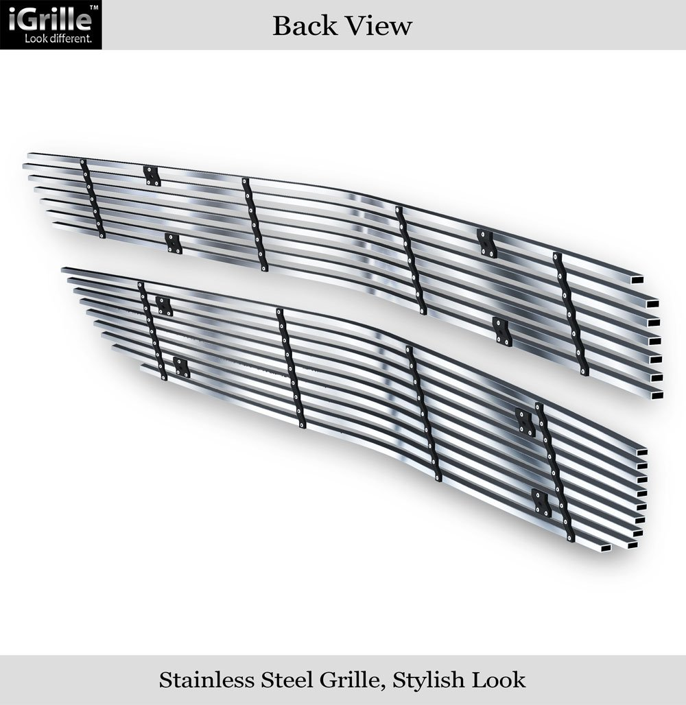 APS Fits 09-11 2011 Chevy Traverse Stainless Steel Billet Grille Insert #C66740C