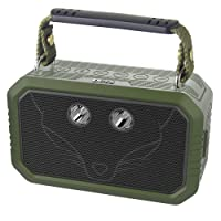 Waterproof Bluetooth Speaker, IP66 Waterproof Shockproof Dustproof DOSS Traveler Bluetooth speaker with 3W flashlight and 20W bold sound,12H Playtime,Handsfree,Perfect for outdoor[Olive Green]