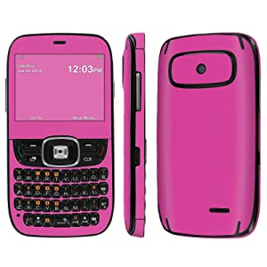[ZTE Altair 2 Z432] Skin [NakedShield] Scratch Guard Vinyl Skin Decal [Full Body Edge] [Matching WallPaper] - [Hot Pink] for AT&T GoPhone ZTE Z432 [Altair 2]