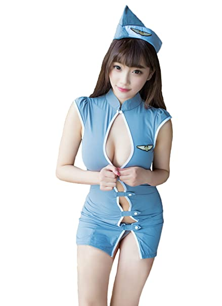 10af555c6b4 Zukzi Womens Sexy Bodycon Lingerie Dress Sets Role Play Costumes For Adult