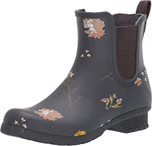 Chooka Women's Waterproof Printed Chelsea Boot with Memory Foam