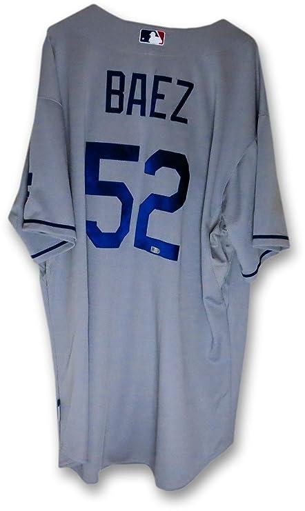 official photos 9178f b24e3 Pedro Baez Team Issue Jersey LA Dodgers Road Gray 2014 #51 ...