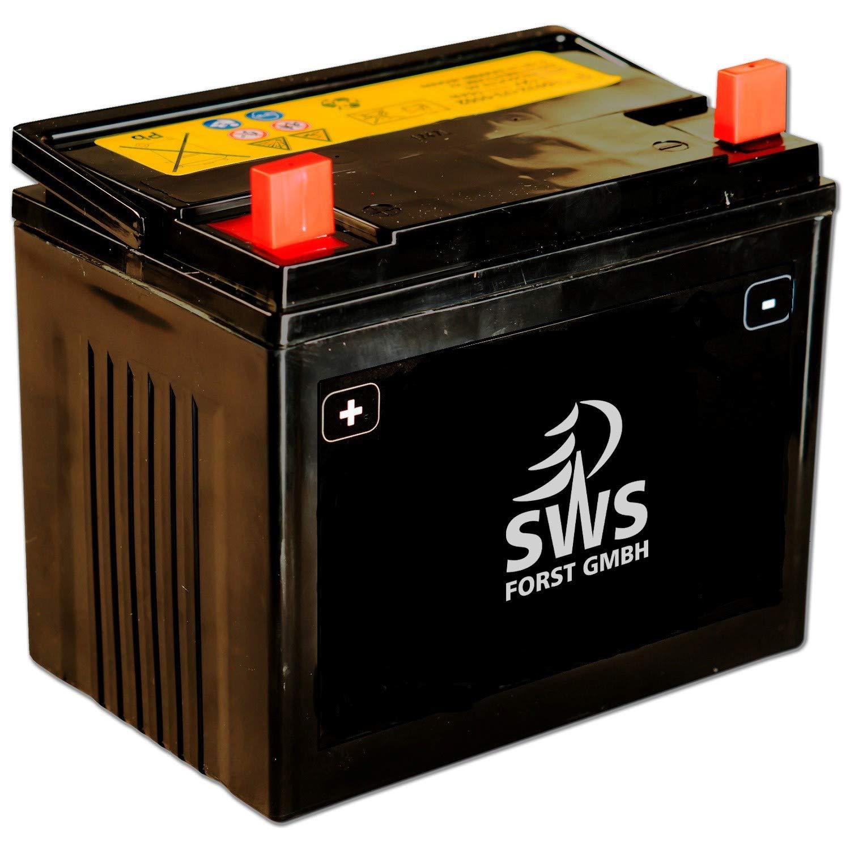 sofort einsatzbereite Batterie fü r alle MTD Rasentraktoren 12 V 26Ah 230A fü r MTD und andere Aufsitzmä her SWS Forst