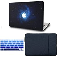 """KECC Laptop Case Compatible with MacBook Pro 13"""" (2020/2019/2018/2017/2016, with/Without Touch Bar) w/Keyboard Cover…"""