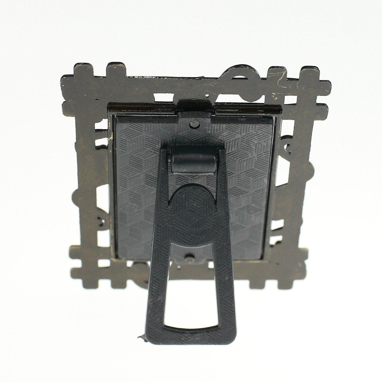 mini Bilderrahmen Mini-Bilderrahmen Fotorahmen Metall Außenmaße: 4 x ...
