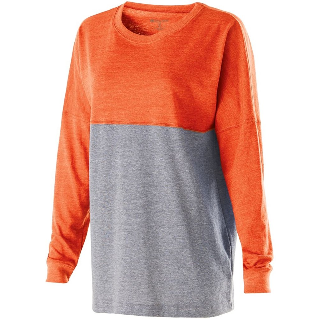 Holloway Juniors Low Key Pullover (Small, Vintage Orange/Vintage Grey) by Holloway