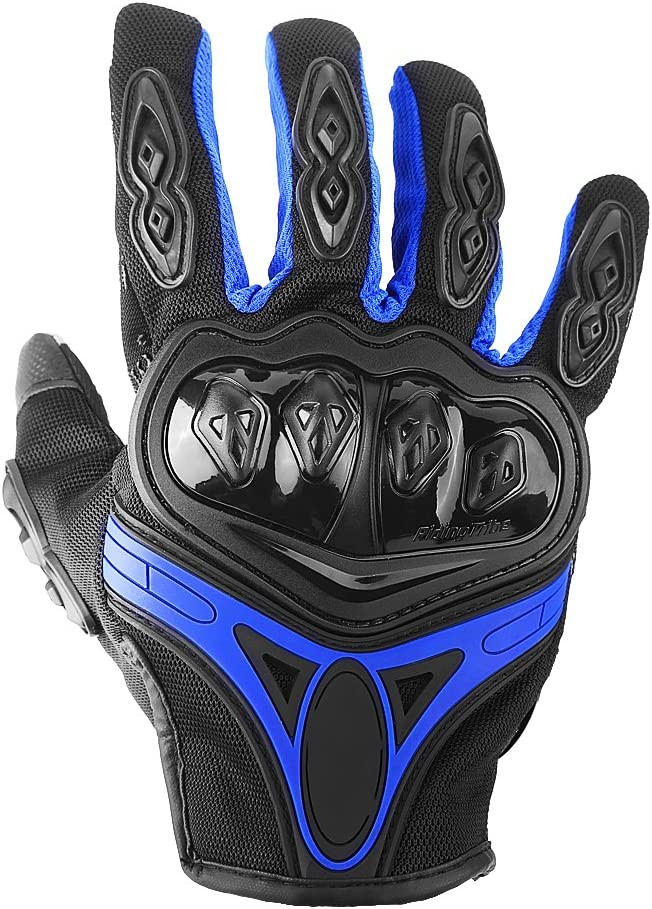 Winter Motorcycle Gloves 3 Colors 3 Sizes Outdoor Windproof Thermal Gloves Breathable Anti-slip Cycling Gloves XL-Black