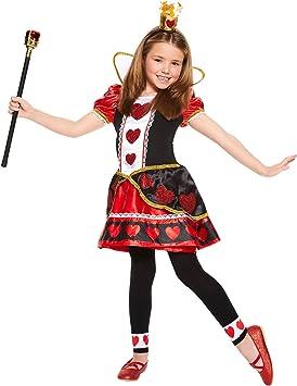 Nuevo Niñas Christys Vestir Reina de Corazones Vestido de ...