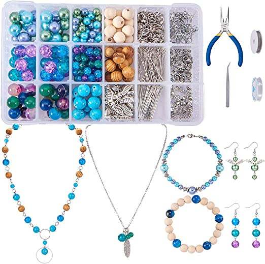 Abris Art Needlework beading decoration. Bead Embroidery Seed beaded brooch Wing DIY Jewelry making kit