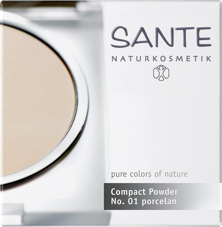 Salud - 2008 comp01 - Maquillaje - Fondo Cutis y polvos - Polvos Compactos No. 01 Porcelain - 9 g Santé 42100