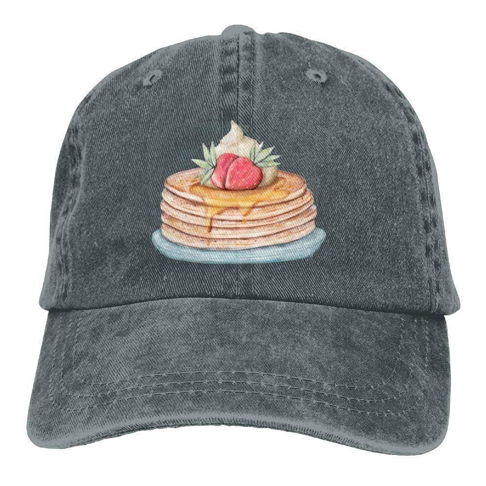 GqutiyulU Happy Pancake Day Adult Cowboy Hat Ash