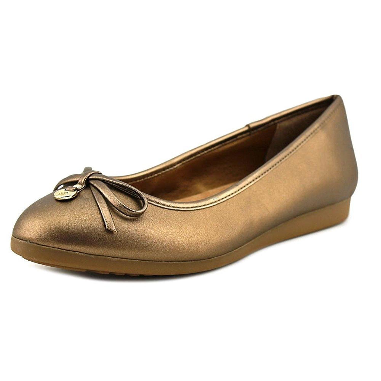 Giani Bernini Frauen ODEYSA Geschlossener Zeh Gleit Sandalen38 EU / 7 US Frauen|Bronze