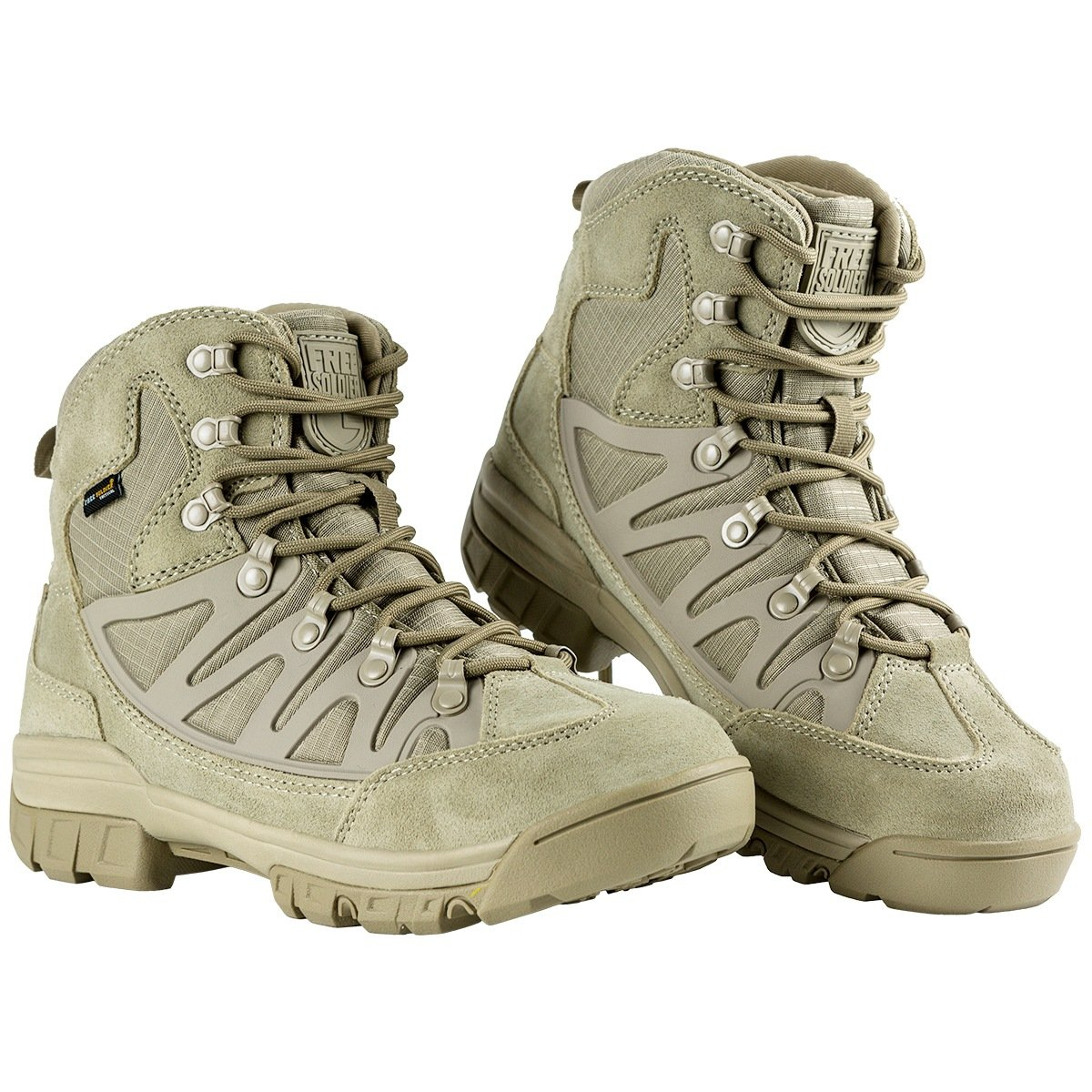 FREE SOLDIER Hombre Botas t/ácticas Calzado de Trekking y Senderismo de Mediana Altura Botas de Camping