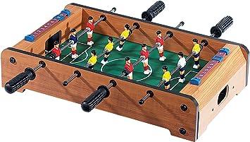 Mini mesa Futbolín, 51 x 31 cm: Amazon.es: Juguetes y juegos