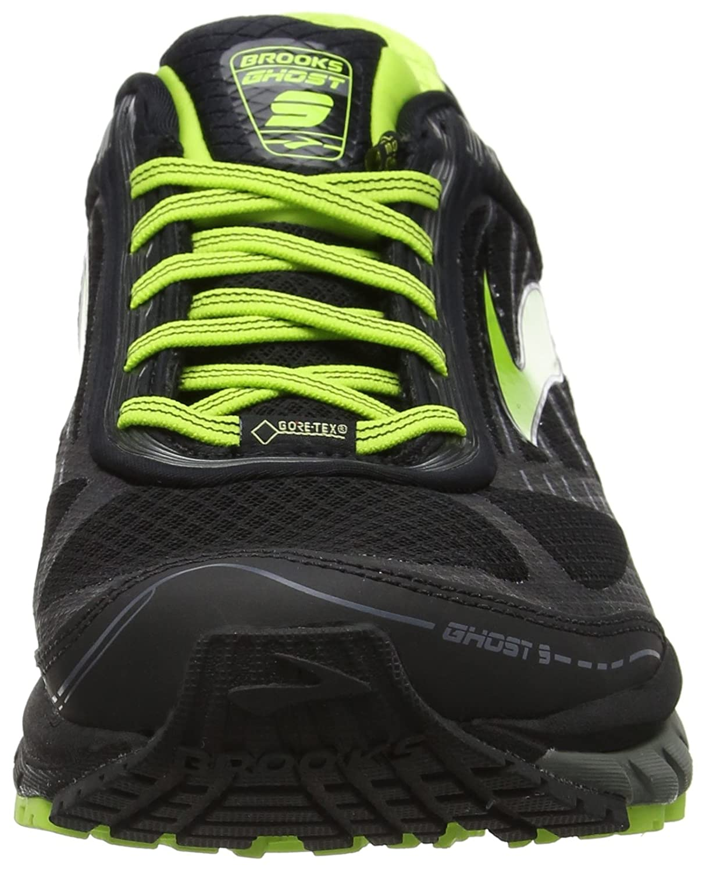 6a23c77ba66 Brooks Men s Ghost 9 GTX Black Castlerock Lime Punch Sneaker 11 D (M)   Amazon.ca  Shoes   Handbags