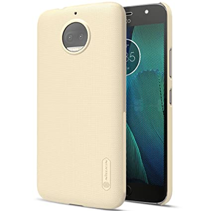 best service c919a ab763 Nillkin Super Frosted Shield Hard Back Cover Case for Moto G5s Plus - Gold