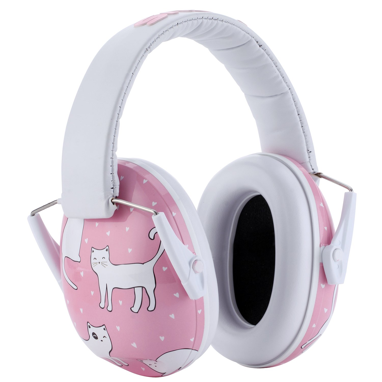 Snug Kids Earmuffs/Hearing Protectors – Adjustable Headband Ear Defenders for Children and Adults (Cats) by Snug (Image #4)