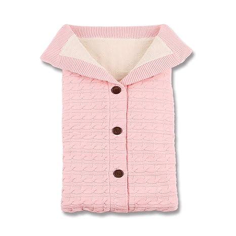 Mimixiong - Saco de dormir para bebé recién nacido, tejido de forro polar, para