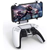 Controller Phone Mount for PS5 - Adjustable Wireless Controller Phone Clip Mount Holder Clamp Compatible with…