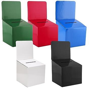 amazon com mcb raffle ticket cardboard box 6x6x12inches great