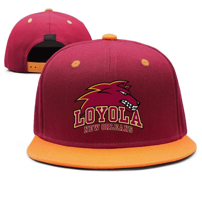 Unisex Chicago-Loyola-University-New-Orleans Baseball Cap Men Women Classic Adjustable Hat