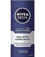 NIVEA MEN Protect & Care Face Lotion, 75 mL tube