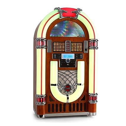 Ricatech RR2100 - Tocadiscos Retro Jukebox y Reproductor de ...