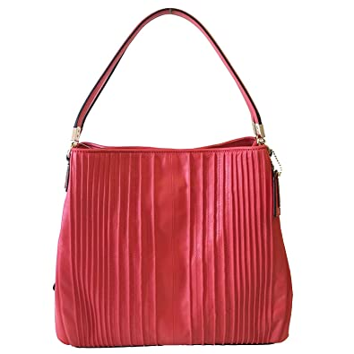 25a17433801f shopping new coach f36675 leather small kelsey satchel shoulder purse  handbag true red womens b90c1 ed628  coupon code for coach madison pintuck  leather ...