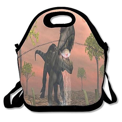 Amazon.com: Dinosaurios Ate peces bolsa de almuerzo Bolsas ...