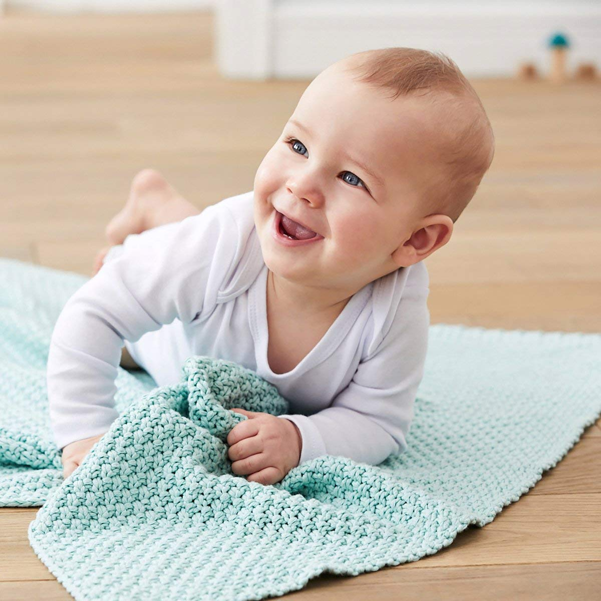Bornino Basics Body Langarm Reine Baumwolle einfarbiger Langarmbody f/ür Babys mit Schlupfkragen /& Druckkn/öpfen im Schrittbereich