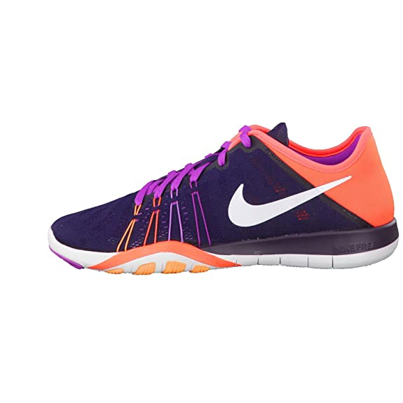 9509c61430 Nike Women's Free TR 6 Training Shoe Purple Dynasty/Total Crimson/Purple/ White Size 7.5 M US: Buy Online at Low Prices in India - Amazon.in
